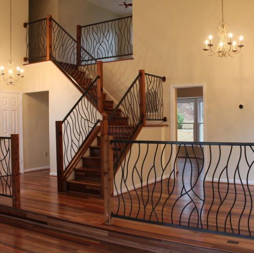 楼梯栏杆安装