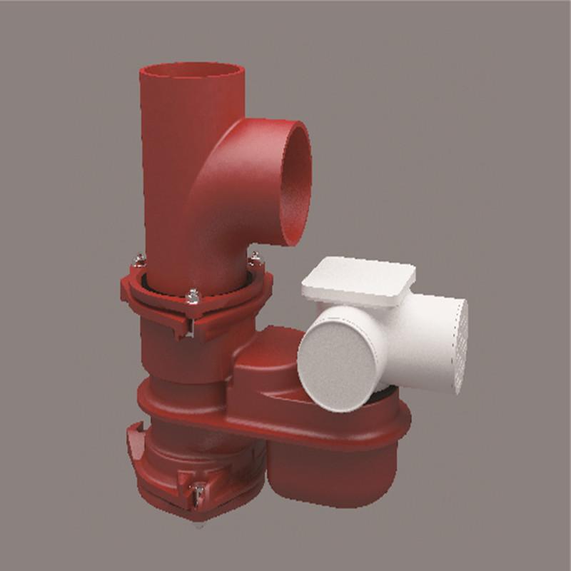 鑄鐵雙立管排水匯集器
