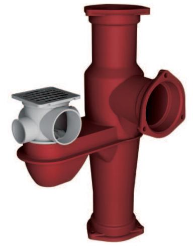 鑄鐵排水匯集器RC1型