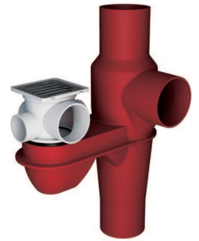 鑄鐵排水匯集器Ⅱ型