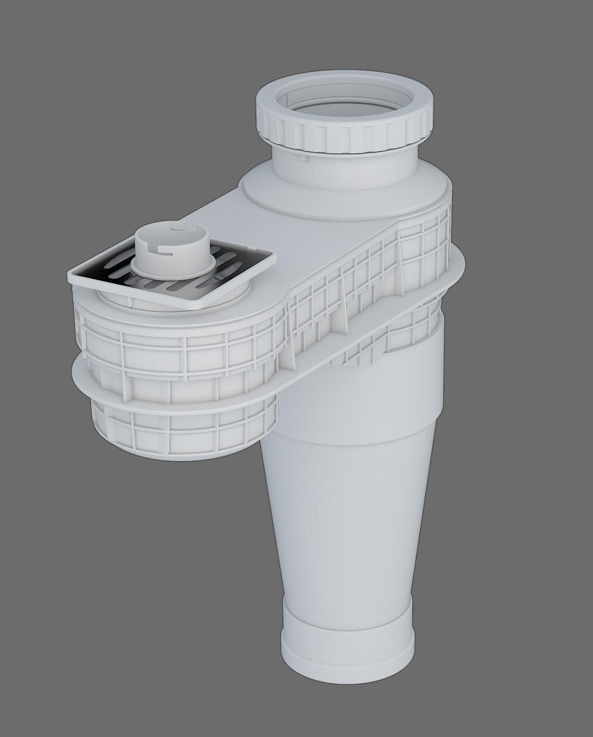 塑料導流連體地漏-I型