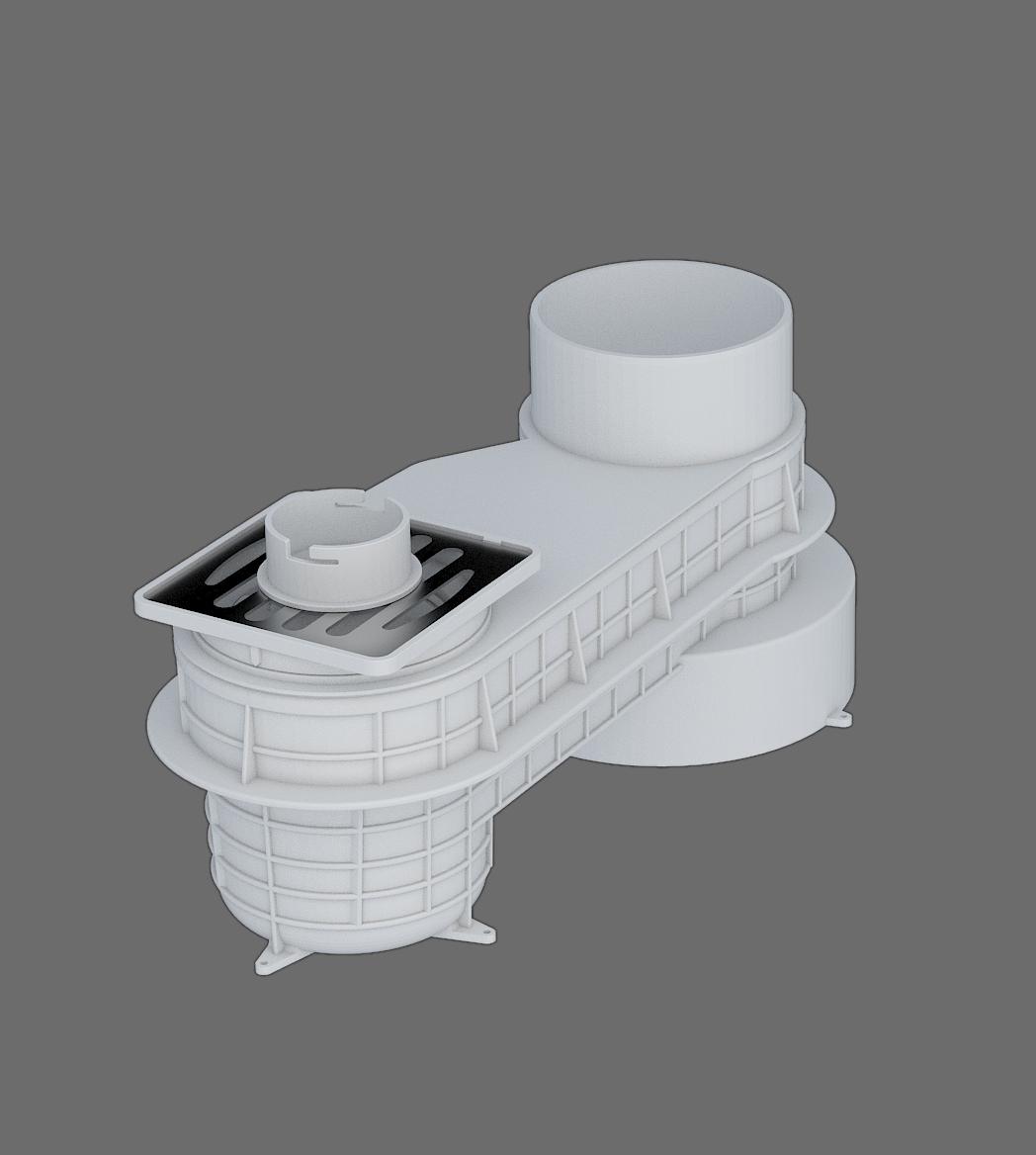 塑料預埋式排水匯集器I-1型