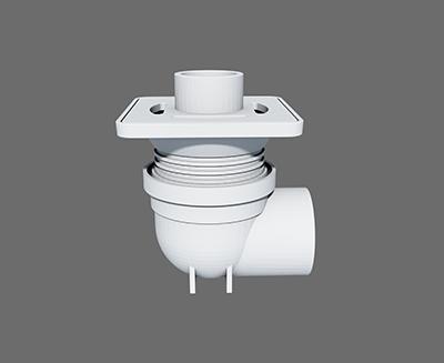 微降板可調式器具連接器