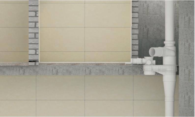 不降板同層排水係統安裝注意要點