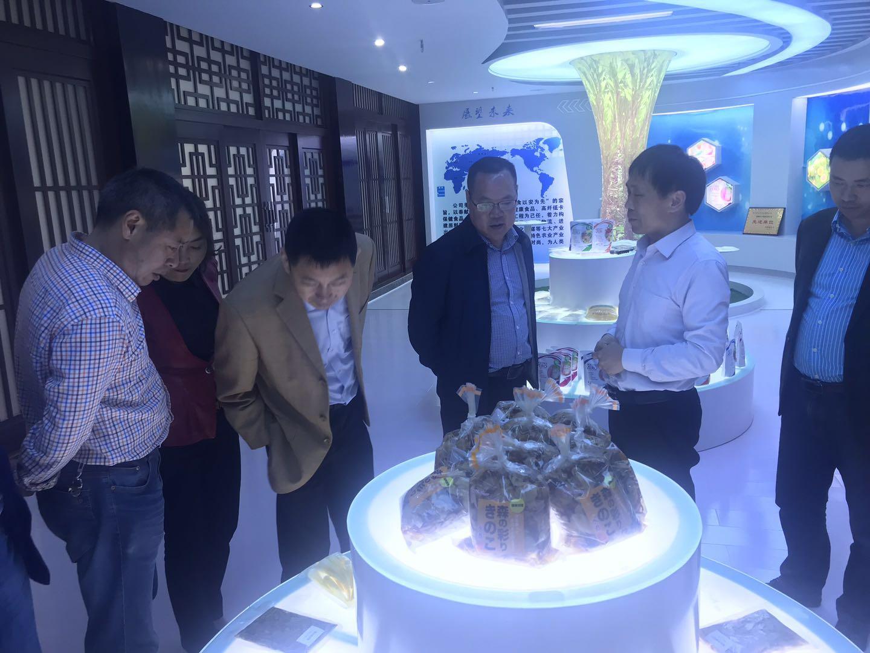 四川省广元市人大农工委主任莅临公司视察工作