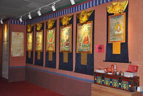 天天非遗丨唐卡画是藏族独有的一个艺术门类