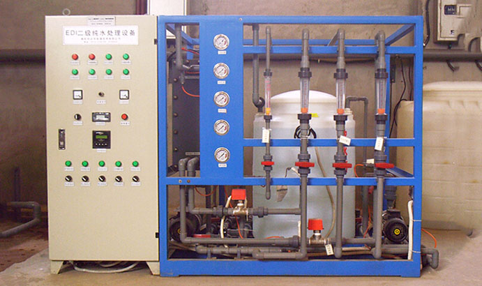 綿陽啟明星磷化工有限公司40m3/h軟化水+2m3/h純水處理工程