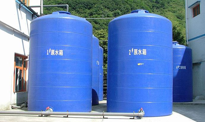 綿陽啟明星電子有限公司25m3/h +40m3/h一級反滲透+混床純水處理工程