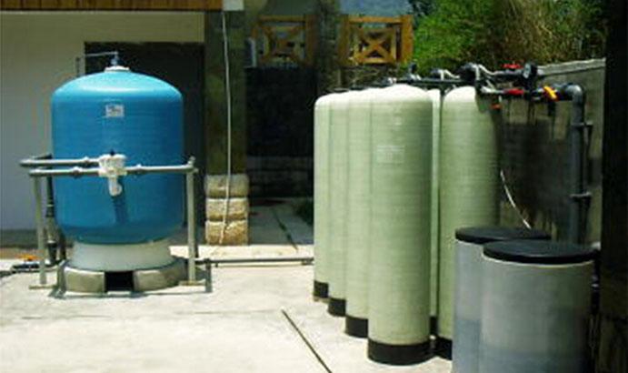綿陽啟明星溫泉度假區16m3/h軟化水水處理工程