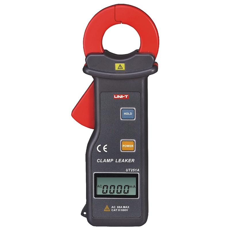UT251高精度钳形漏电流表