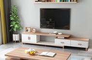 茶幾電視柜如何選?美觀實用不將就