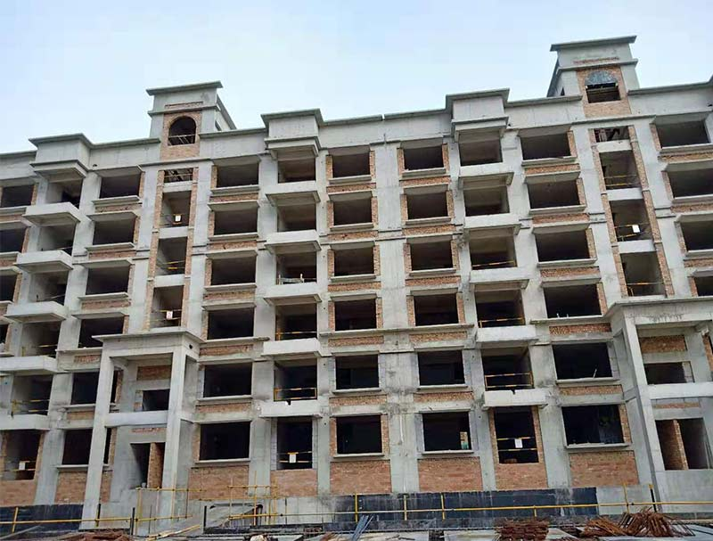 砌塊建筑墻體裂縫防治方法