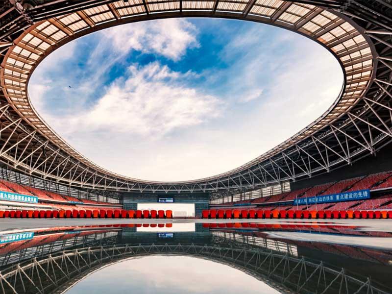 陜西省體育中心訓練館3層框架