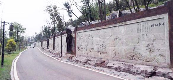 泸州张坝桂圆林雕刻