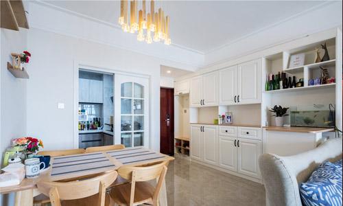 110平三室兩廳一廚一衛北歐風格