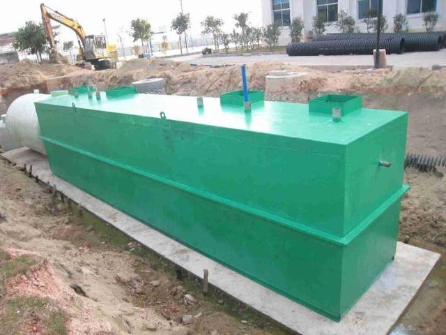 一体化生活污水处理设备取代传统污水处理