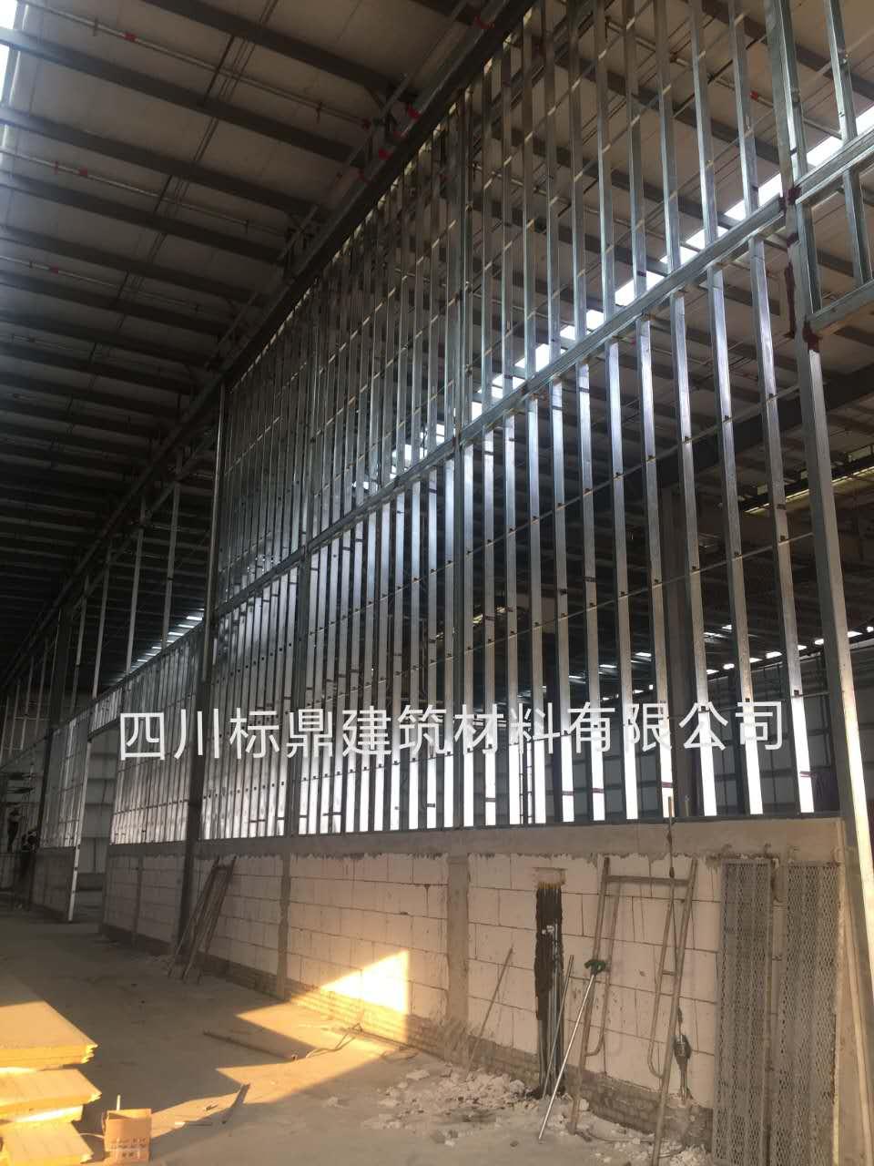浙江嘉兴宝湾物流4小时轻质防火墙项目顺利开工