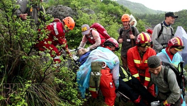 登山救援保障