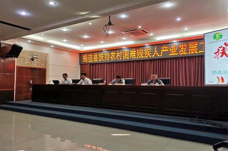 盛世康源集团董事长张德兵先生带领集团管理层视察筠连产业规划