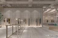 商場展柜的布置應注意設計購物中心中庭空間