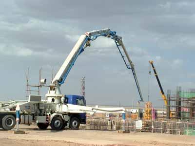 新買的混凝土拖泵要怎麽試機