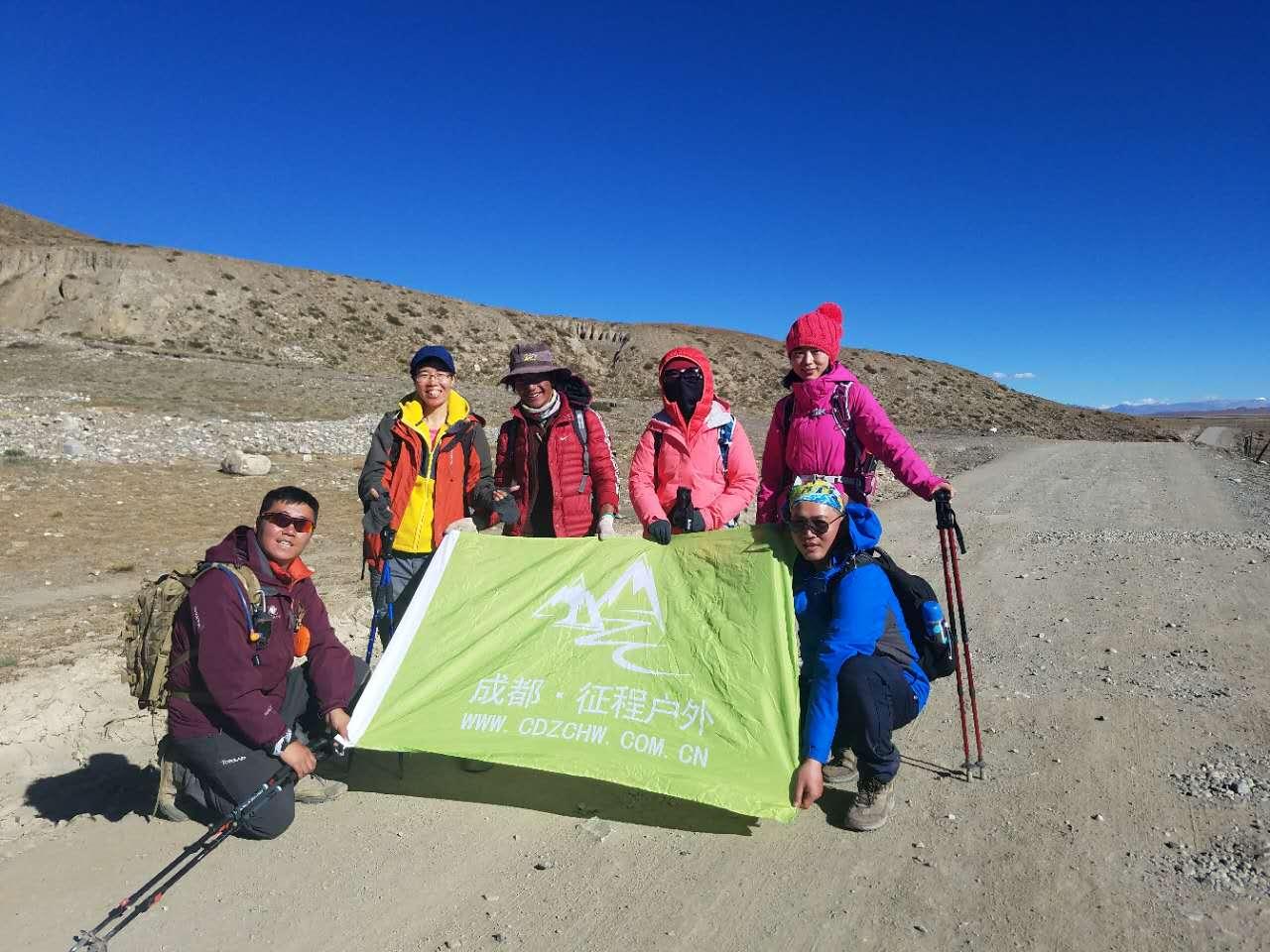 2017年西藏阿里無人區17日活動照片