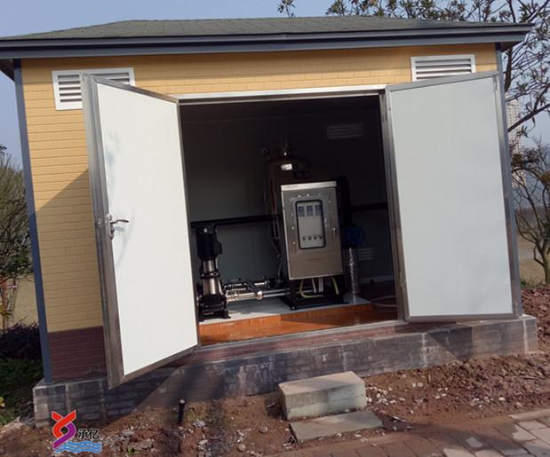 无负压变频供水设备站建设