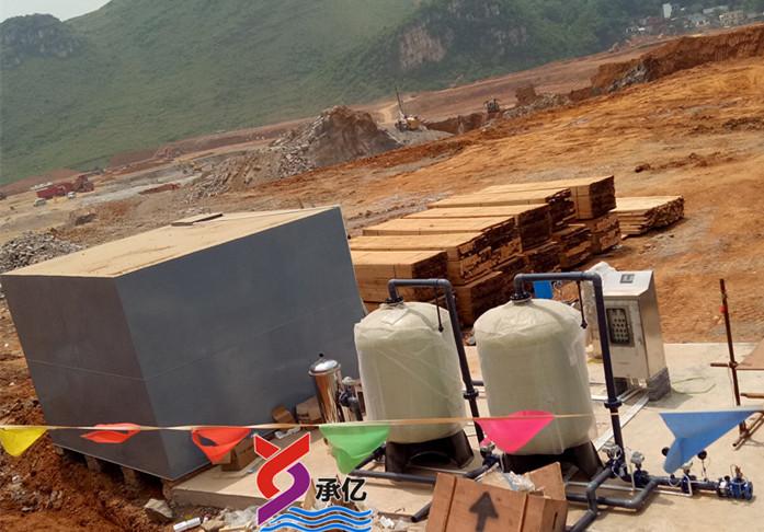 全自动自来水生产供应站