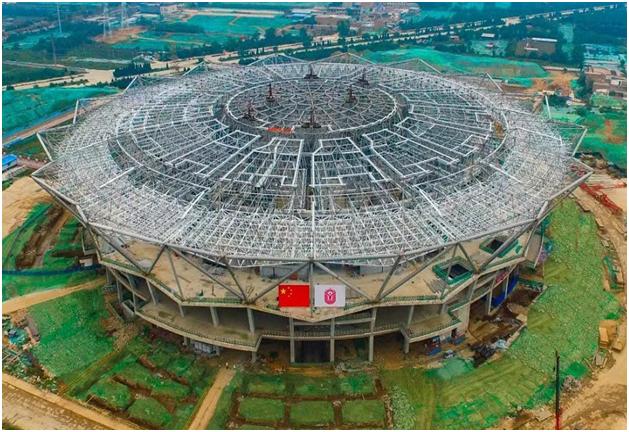 西安奧體中心項目--體育館