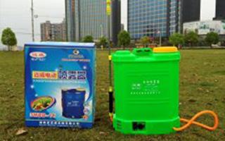 电动喷雾器正确使用与保养