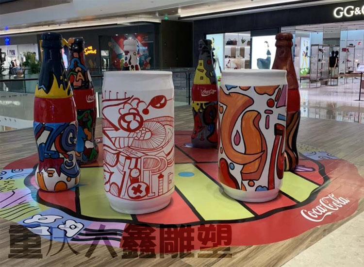武候区悠方中心展示可乐