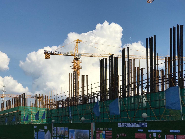 山海灣SRC型鋼柱鋼結構