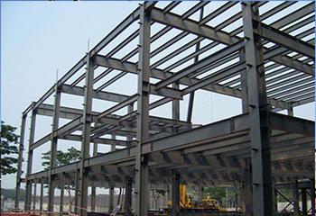 多層鋼框架