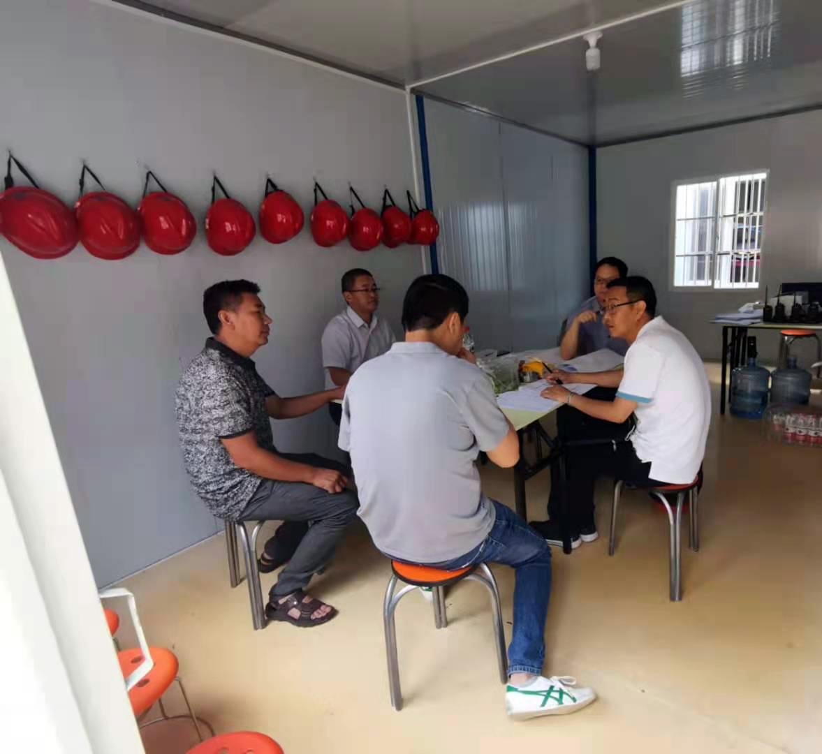 云南迪思公司辦公樓加固工程竣工驗收合格