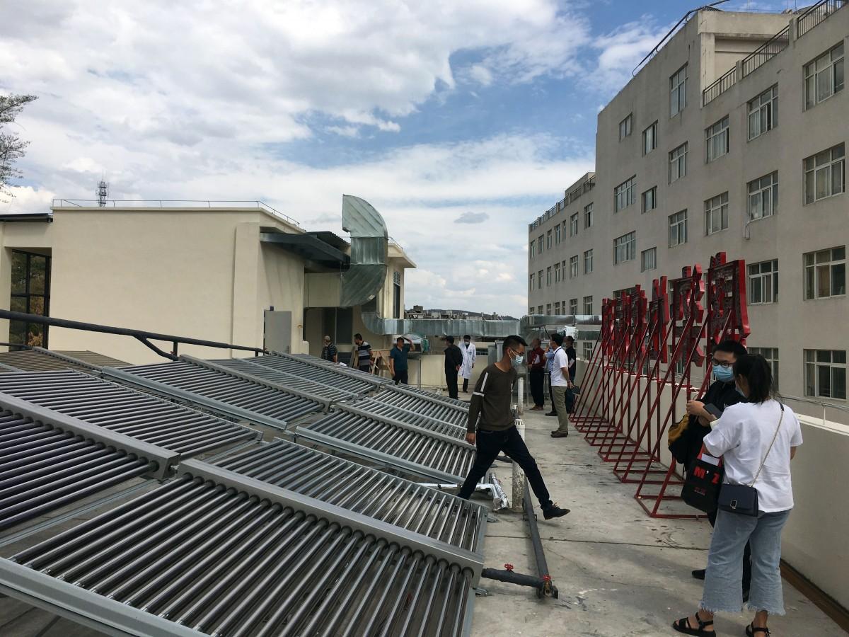 澄江市人民醫院傳染病房建筑結構加固、擴建工程2021年5月11日成功竣工驗收