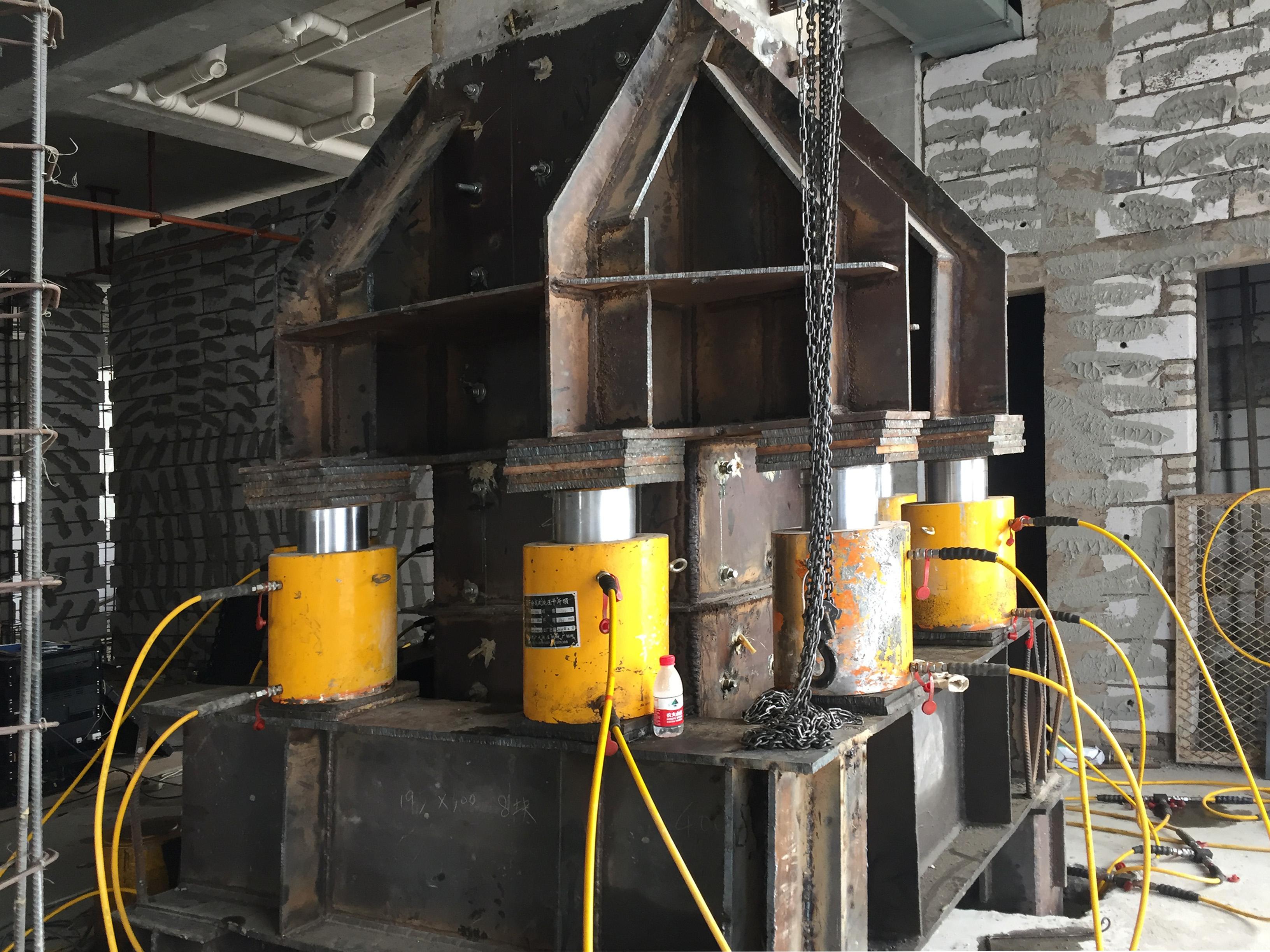 托梁換柱更換隔震支座施工技術