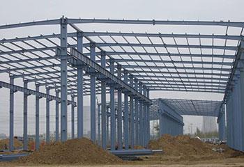 單層鋼結構吊車廠房