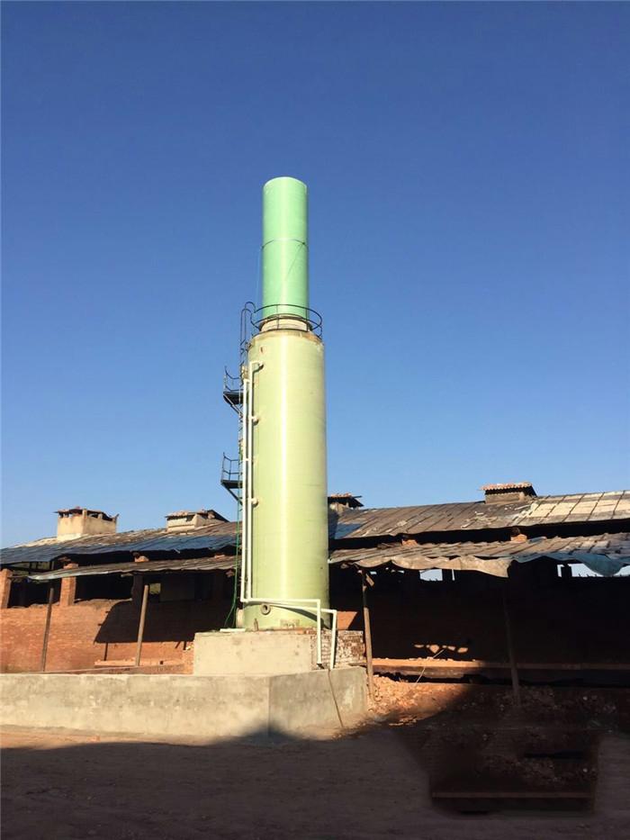 砖厂玻璃钢脱硫塔--性能