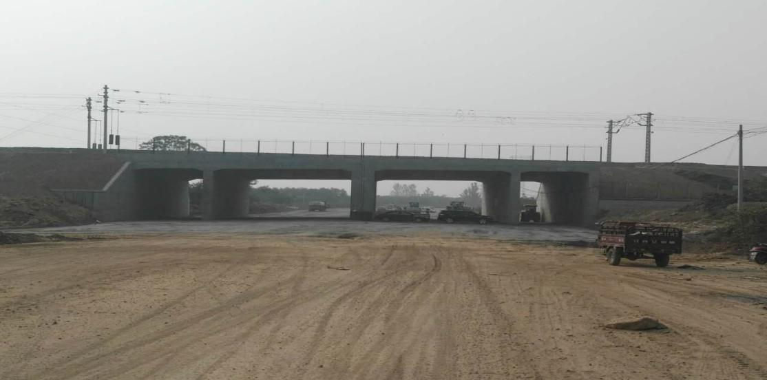 韩城东二环下穿侯西线箱型桥改扩建工程