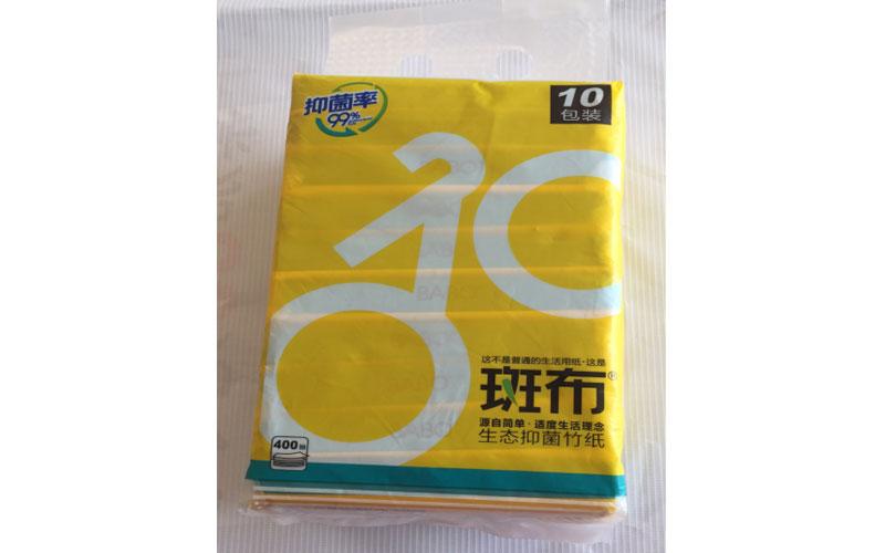 斑布运动系列卫生抽纸40抽(便携抽纸)*18
