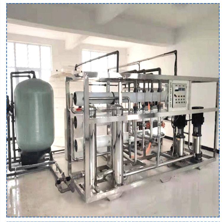 3噸純化水設備雙級反滲透凈水設備