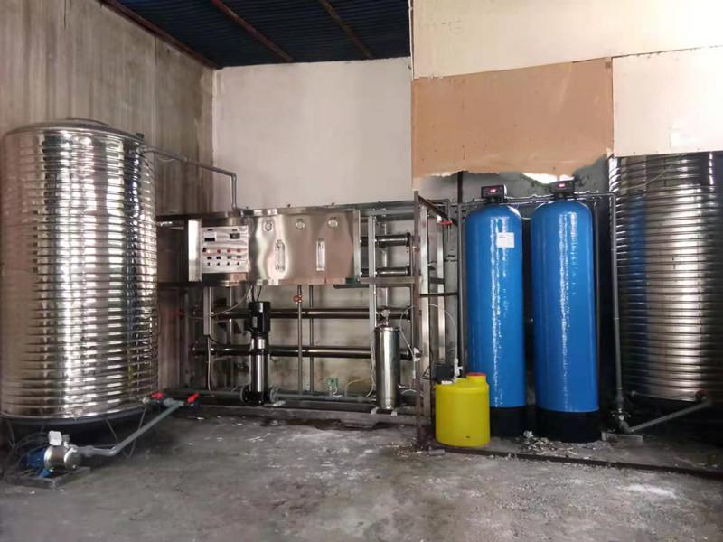 2噸單級反滲透設備安裝維護應用