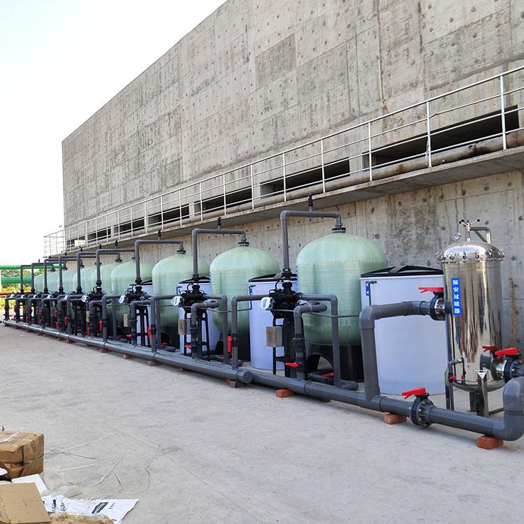 江蘇紡織印染廠軟化水凈水設備 300噸自動軟化水設備