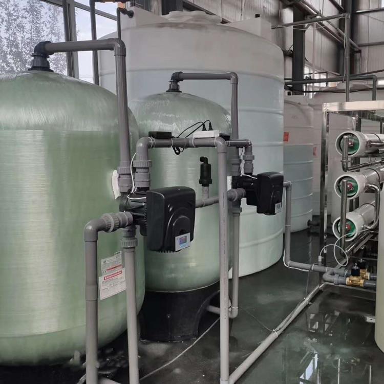 20噸/小時自動鍋爐軟化水設備