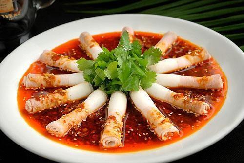 四川传统名菜蒜泥白肉