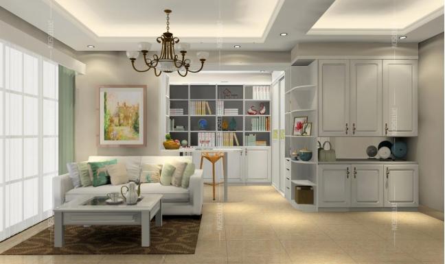 空間也可像海綿,擠一擠居然能多個書房!
