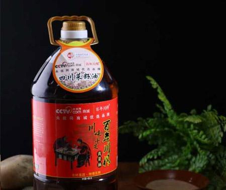 5L川味十足黃菜籽油