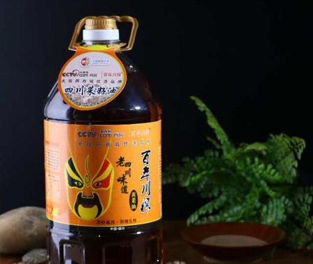 5L老四川味道黃菜油