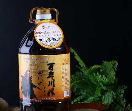 5L四川味黃菜籽油