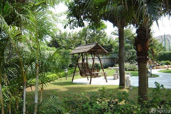 別墅園林景觀設計方式 別墅花園設計方法